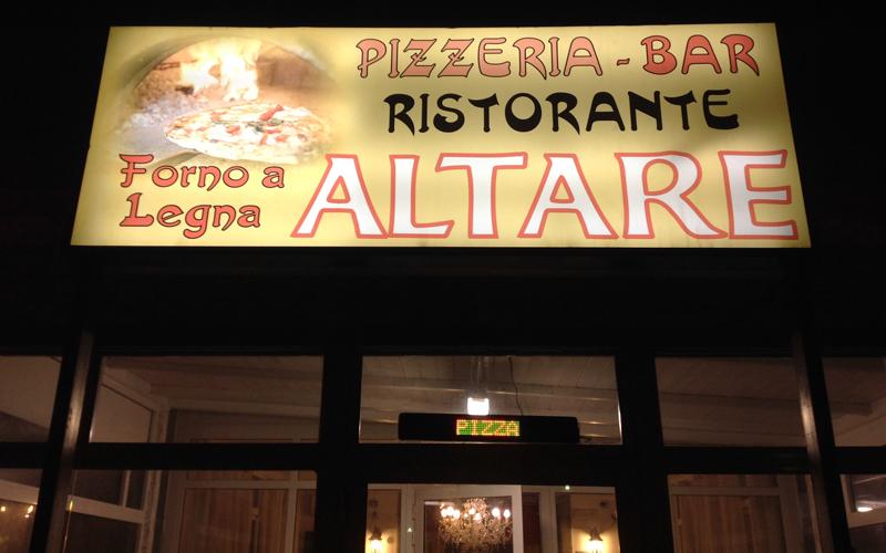 Ristorante Pizzeria Altare